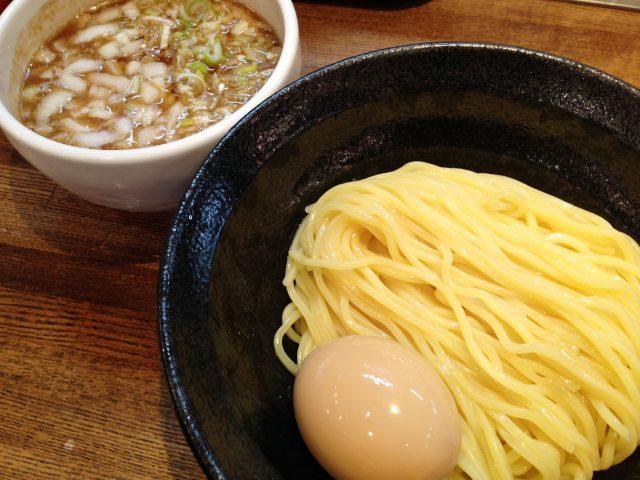 レジスタ・味玉あっさりつけ麺