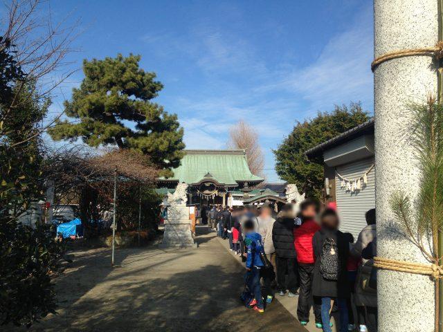 戸ヶ崎香取神社
